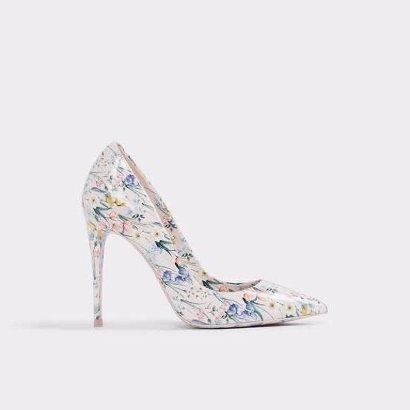 Aldo Shoes Aldo Stessy Pastel Floral